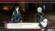 """Fire Emblem Three Houses - Chapter 15: Visit Linhardt """"I Don't Want To Kill"""" Dialogue Tree Switch (2019)"""