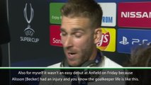 Liverpool's stars react after winning the UEFA Super Cup