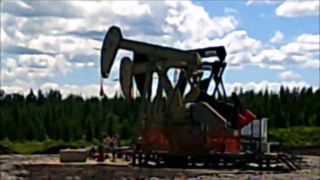 MCH 160 OIL DONKEYS HARD AT WORK.