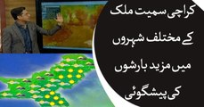 Weather updates for today in Pakistan