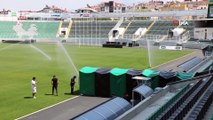 Denizli Atatürk Stadı Galatasaray maçına hazır