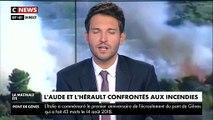 Quelque 900 hectares de pinèdes et de végétation ont été ravagés dans l'Aude par un incendie - Aucune victime - VIDEO