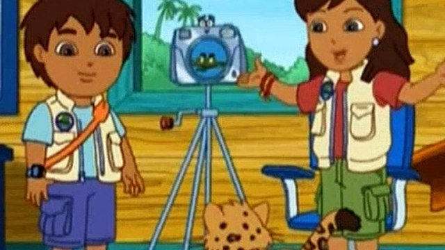 Go Diego Go S01E01 Rescue of Red Eyed Tree Frogs