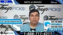 Mets Braves MLB Pick 8/15/2019