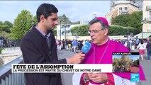 Fête de l'Assomption : la procession est partie du chevet de Notre-Dame