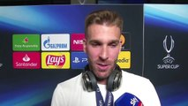 (Subtitled) Liverpool's Adrian speaks after Super Cup heroics