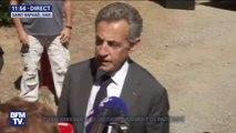 """""""Un pays sans mémoire ce n'est pas un pays."""": Nicolas Sarkozy assiste à la cérémonie du 75e anniversaire du débarquement de Provence"""