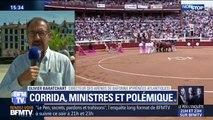 """""""En venant à une corrida, le ministre Guillaume sait très bien qu'il défend une race."""" , soutient le directeur des arènes de Bayonne"""