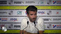 Conférence de presse de Luka Elsner - Amiens SC - Lille OSC