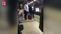 Yolcuların anons şaşkınlığı: Treni boksör gibi anons etti