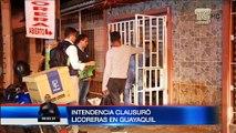 Varios locales de licoreras fueron clausurados en Guayaquil