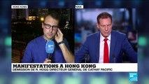 Hong Kong : Environ un million de personnes réunies dans le calme au pied des gratte-ciel