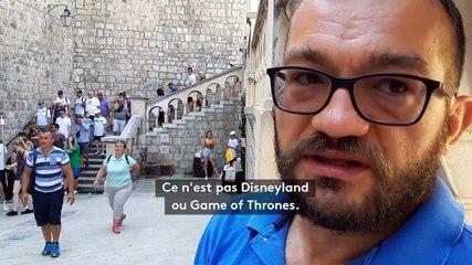 Dubrovnik face à l'invasion des touristes
