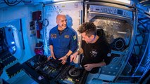 Astronaut rocks Ibiza with first ever DJ set from Space!
