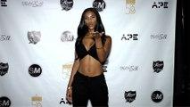 "Hazel Love ""Models Vs Influencers All Gold Party"" Red Carpet"