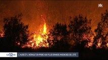 Incendie près de Carcassonne : 900 hectares détruits, pas de victime