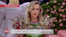 Saoirse Ronan And Timothée Chalamet Are Great On Camera