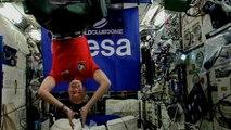 400 km über der Erde: ESA-Astronaut macht Musik für Party-Schiff