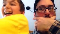Parents Are HERO - Dad And Baby Incorporate Together Like Teammate ★ Funny Dad And Baby Video