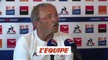 Doumayrou forfait pour le mondial - Rugby - bleus