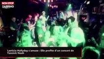 Laeticia Hallyday s'amuse : Elle profite d'un concert de Yannick Noah (vidéo)