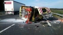 Autoroutes : 36 véhicules de sécurité percutés