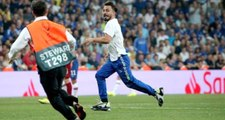 Maç oynanırken sahaya atlayan fenomen Ali Abdülselam Yılmaz'ın Instagram hesabı kapatıldı