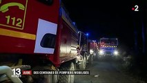 Dans l'Aude, l'incendie désormais en partie fixé, des foyers toujours actifs