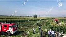 Russische Piloten nach Notlandung in Maisfeld als Helden gefeiert
