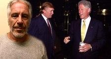 Fuhuş ağı kuran ABD'li milyarder Epstein'in evinde kadın elbiseli Bill Clinton tablosu bulundu