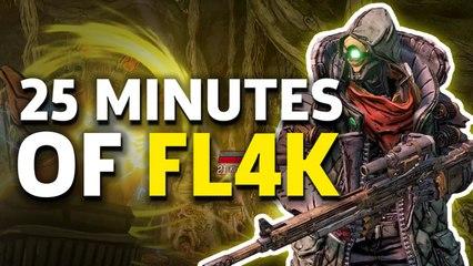 Borderlands 3 - 25 Minutes Of FL4K New Gameplay