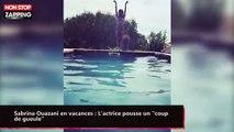 """Sabrina Ouazani en vacances : L'actrice pousse un """"coup de gueule"""" (vidéo)"""