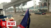 Flash floods hit Subang Jaya after downpour
