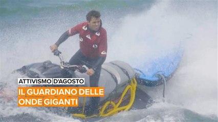 Attivismo d'Agosto: Sergio, l'angelo custode dei surfisti