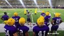 LSU football using body recovery zones to stay cool