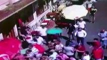 Büyükada'daki faytoncularla akülü araç sahipleri arasında kavga