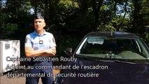 Les contrôles de gendarmes en voitures banalisées dans l'Ain