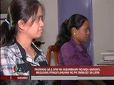 Pinoy maids of Gaddafi now home