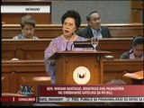 Miriam hits church opposition to RH bill