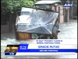 'Egay' triggers floods in several Pampanga towns