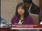 Ex-PCSO officials emotional during Senate hearing