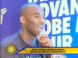 Kobe Bryant  reveals bet in Pacquiao-Mayweather fight