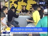 Bayan Patrollers in Luneta for Rizal birth anniversary activity
