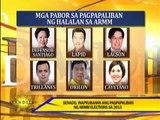Senate approves postponement of ARMM elections