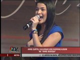 Anne Curtis to launch debut album