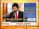 Punto por Punto: Pacquiao ginigipit ng BIR?