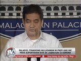 PNoy meeting with INC touches on Corona impeachment