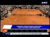 Nadal, Federer win in Rome