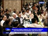 Gina Lopez, MVP debate on mining