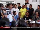 Duterte son also shows dirty finger at critics